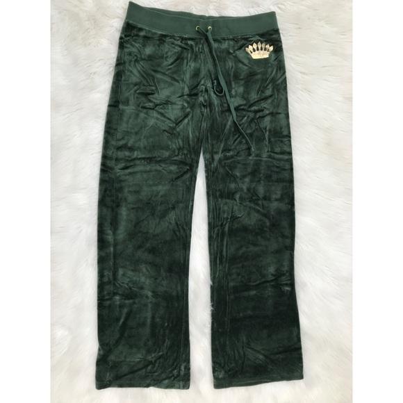 Juicy Couture Pants - Juicy Couture Velour Track Pants
